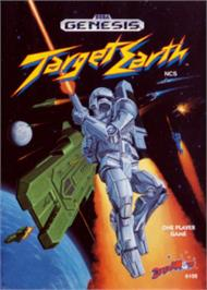 Box cover for Target Earth on the Sega Nomad.