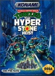 Box cover for Teenage Mutant Ninja Turtles: The HyperStone Heist on the Sega Nomad.