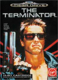 Box cover for Terminator, The on the Sega Nomad.