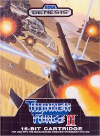 Box cover for Thunder Force II on the Sega Nomad.