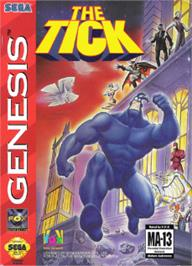 Box cover for Tick, The on the Sega Nomad.