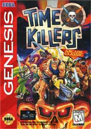 Box cover for Time Killers on the Sega Nomad.