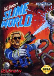 Box cover for Todd's Adventures in Slime World on the Sega Nomad.