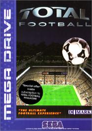 Box cover for Total Football on the Sega Nomad.