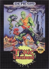 Box cover for Toxic Crusaders on the Sega Nomad.