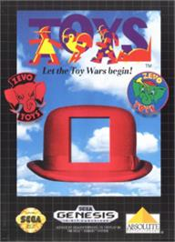 Box cover for Toys on the Sega Nomad.