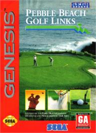 Box cover for True Golf Classics: Pebble Beach Golf Links on the Sega Nomad.