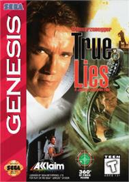 Box cover for True Lies on the Sega Nomad.