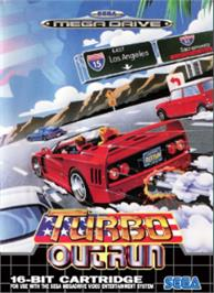 Box cover for Turbo Out Run on the Sega Nomad.