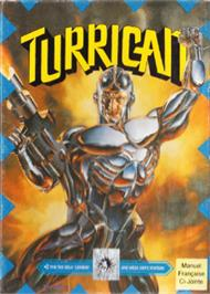 Box cover for Turrican on the Sega Nomad.