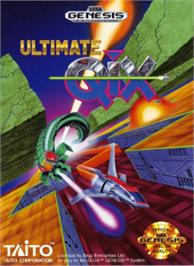 Box cover for Ultimate Qix on the Sega Nomad.