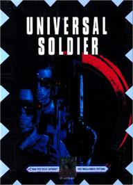 Box cover for Universal Soldier on the Sega Nomad.