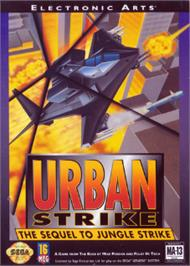 Box cover for Urban Strike on the Sega Nomad.