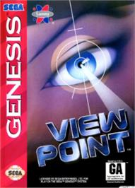 Box cover for Viewpoint on the Sega Nomad.