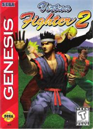Box cover for Virtua Fighter 2 on the Sega Nomad.
