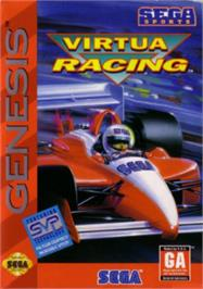 Box cover for Virtua Racing on the Sega Nomad.