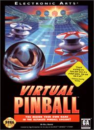 Box cover for Virtual Pinball on the Sega Nomad.