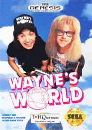 Box cover for Wayne's World on the Sega Nomad.