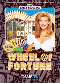 Box cover for Wheel Of Fortune on the Sega Nomad.