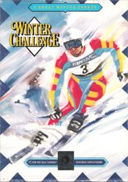 Box cover for Winter Challenge on the Sega Nomad.
