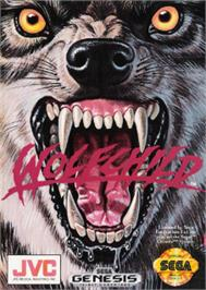 Box cover for Wolfchild on the Sega Nomad.