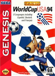 Box cover for World Cup USA '94 on the Sega Nomad.