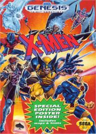 Box cover for X-Men on the Sega Nomad.