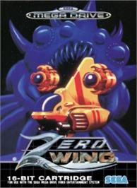 Box cover for Zero Wing on the Sega Nomad.