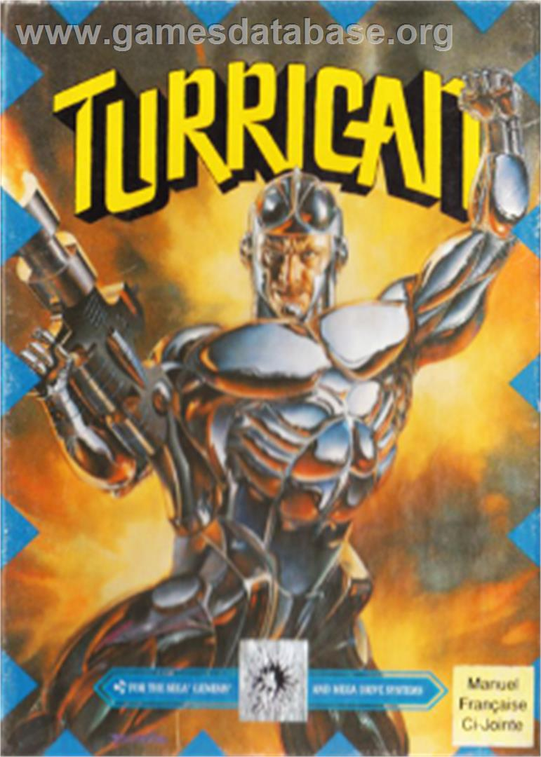 Turrican - Sega Nomad - Artwork - Box