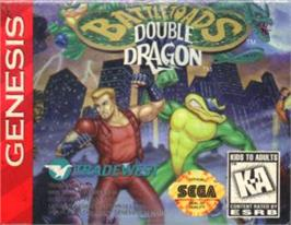 Cartridge artwork for Battletoads & Double Dragon: The Ultimate Team on the Sega Nomad.