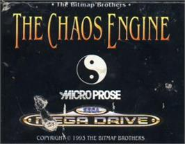 Cartridge artwork for Chaos Engine, The on the Sega Nomad.
