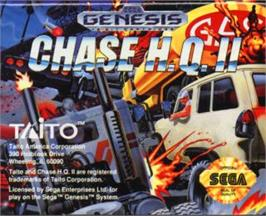 Cartridge artwork for Chase H.Q. 2 on the Sega Nomad.