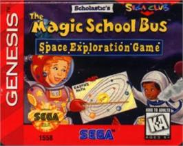 Cartridge artwork for Magic School Bus, The on the Sega Nomad.