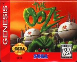 Cartridge artwork for Ooze, The on the Sega Nomad.