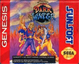 Cartridge artwork for Pirates of Dark Water, The on the Sega Nomad.
