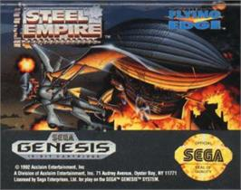 Cartridge artwork for Steel Empire, The on the Sega Nomad.