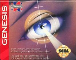 Cartridge artwork for Viewpoint on the Sega Nomad.