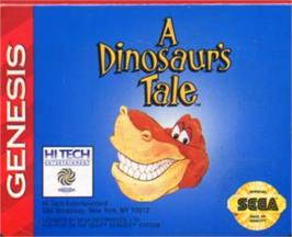 Cartridge artwork for We're Back! - A Dinosaur's Tale on the Sega Nomad.