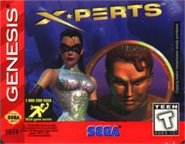 Cartridge artwork for X-Perts on the Sega Nomad.