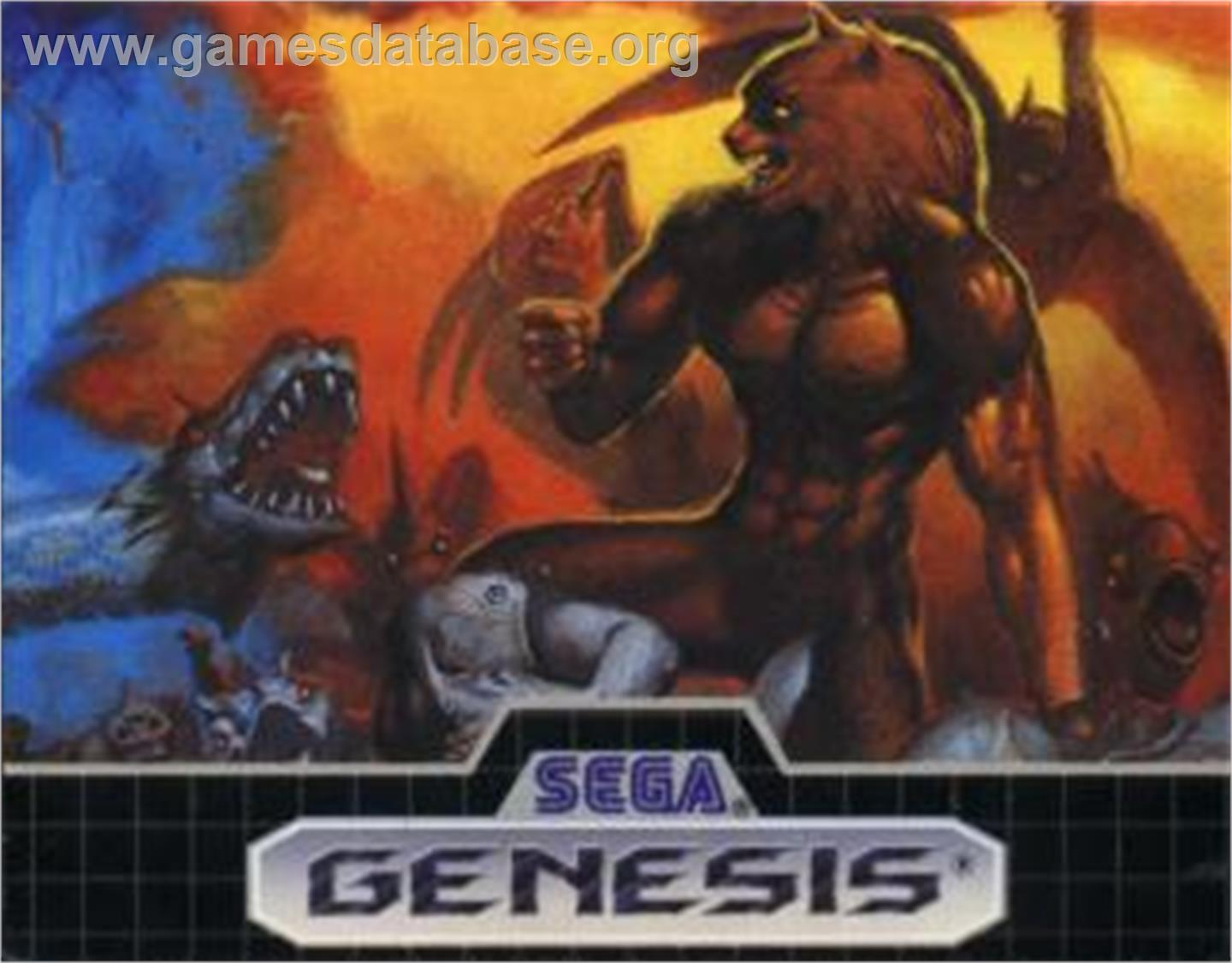 On for Altered beast