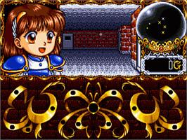 In game image of Madou Monogatari on the Sega Nomad.