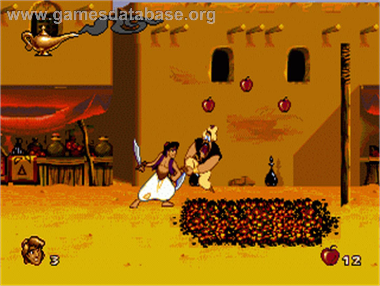 Aladdin Sega Nomad Games Database