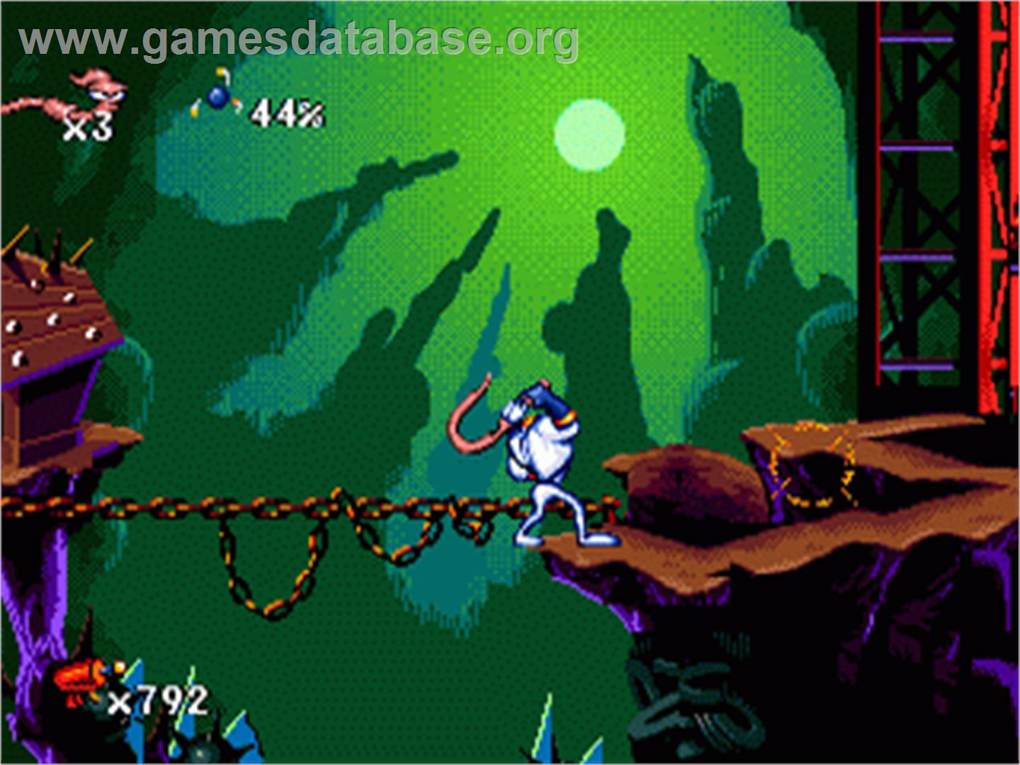 Earthworm Jim - Sega Nomad - Games Database