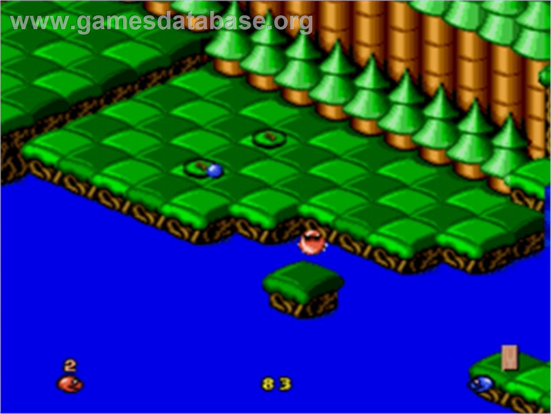 Snake Rattle N Roll Sega Nomad Games Database
