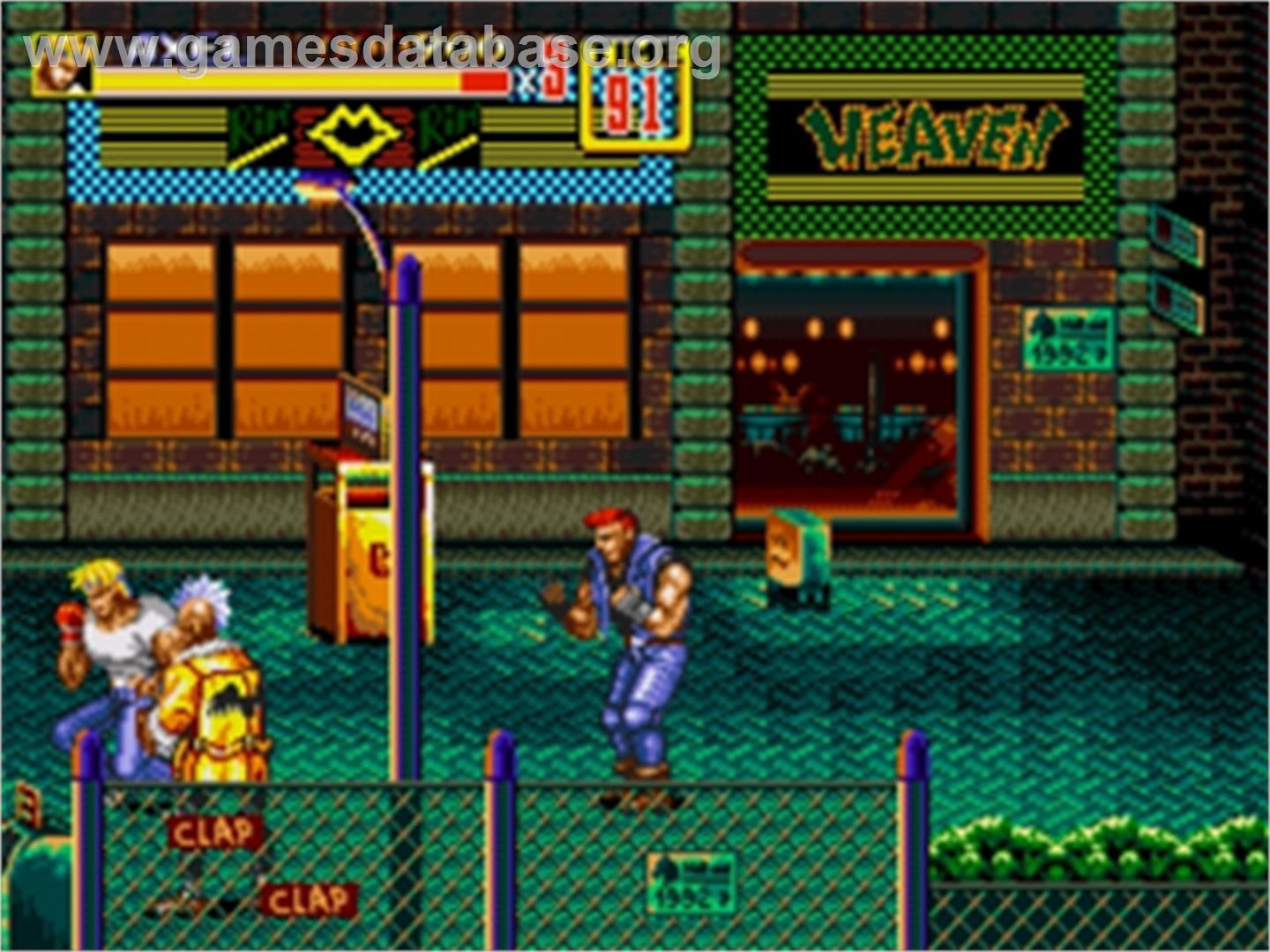 Streets Of Rage 2 Sega Nomad Games Database