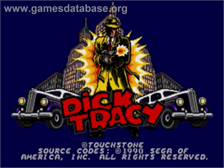 Dick Tracy - Sega Nomad