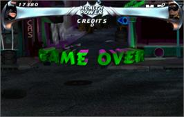 Game Over Screen for Batman Forever.