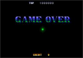 Game Over Screen for Guardian Force.