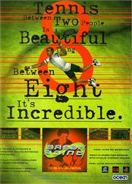Advert for Break Point on the Sony Playstation.