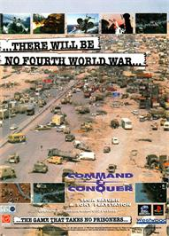 Advert for Command & Conquer on the Sega Saturn.